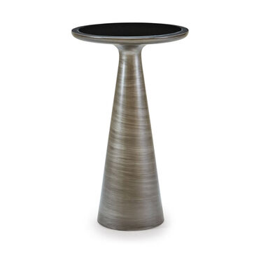 ADDIE PULL-UP TABLE - PEWTER, , hi-res