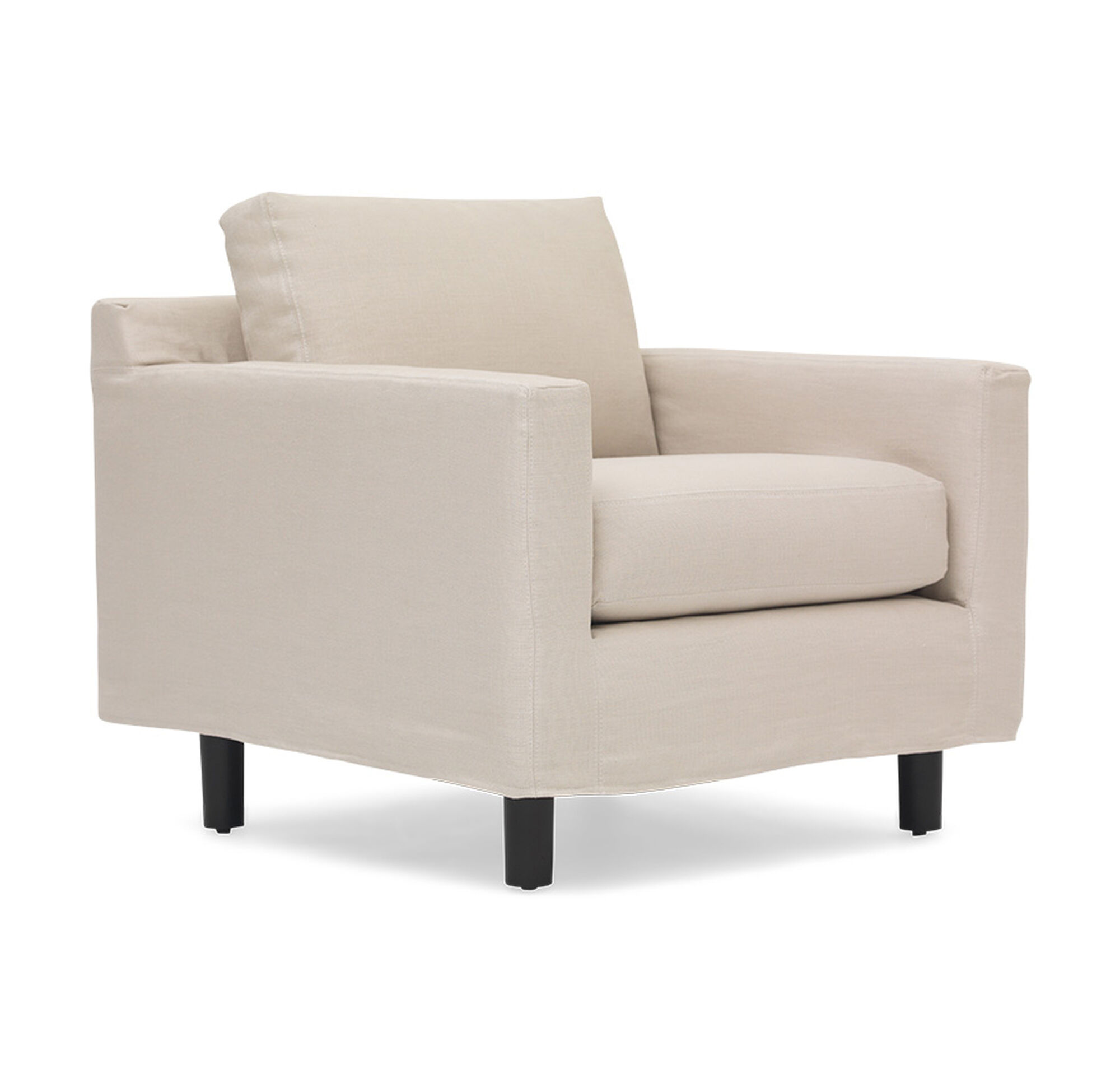 HUNTER STUDIO SLIPCOVER CHAIR