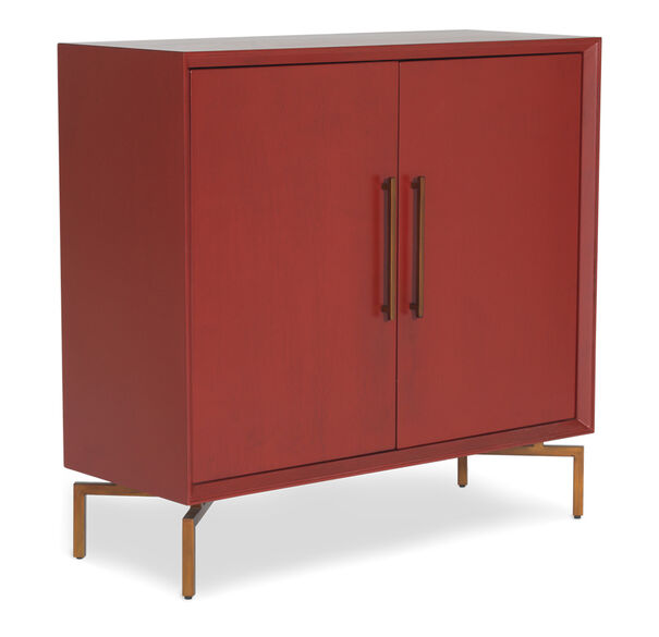 MING RED STORAGE CHEST, , hi-res
