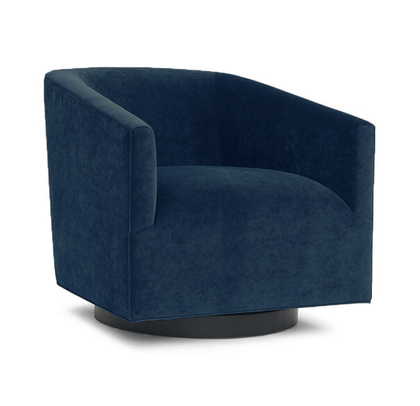 COOPER FULL SWIVEL CHAIR, BOULEVARD - DEEP BLU, hi-res