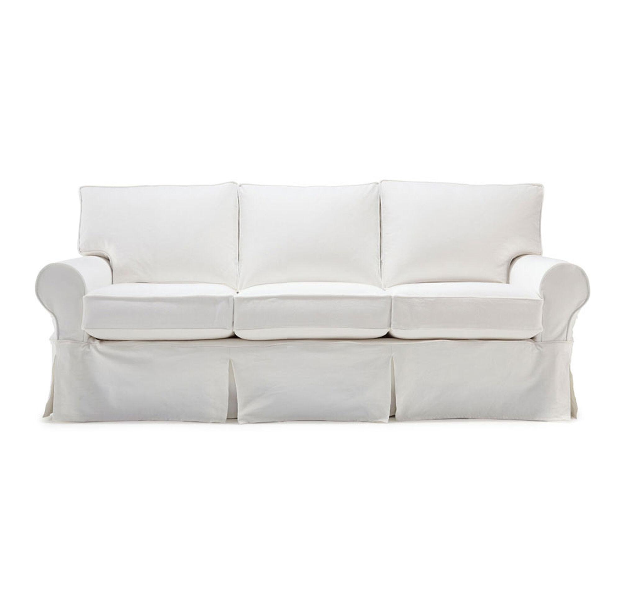 Sofa Sleeper Slipcover Queen Slipcovered Sleeper Sofas