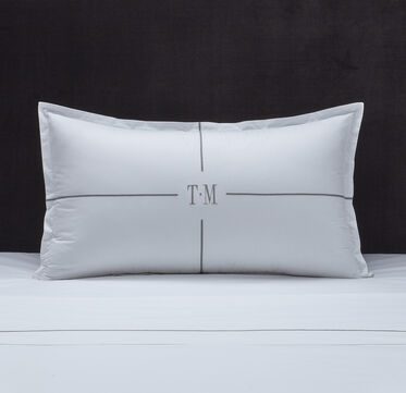 TRANQUILITY MONOGRAM PILLOW SHAM , , hi-res