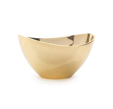 CURVED GOLD BOWL, , hi-res