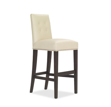 OLIVER LEATHER BAR STOOL, , hi-res