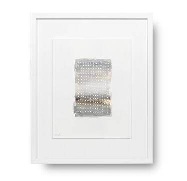 GRAY GRID STORY WALL ART, , hi-res