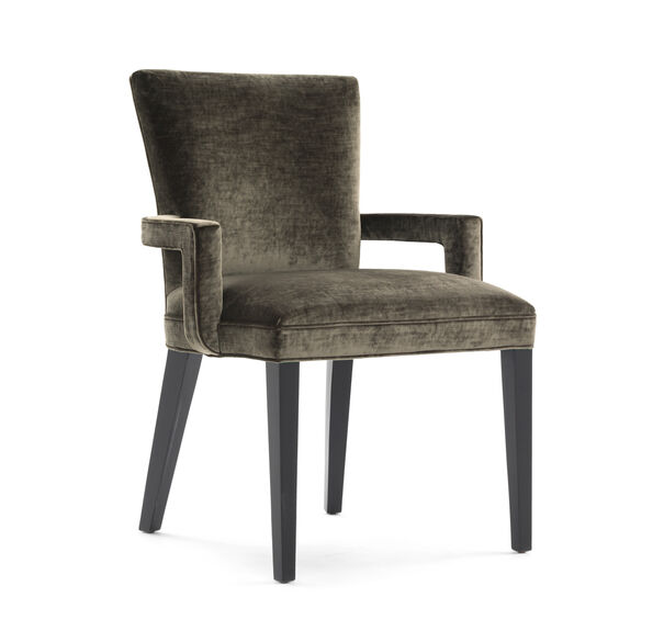 SIDNEY ARM DINING CHAIR, BODEN - MOSS, hi-res