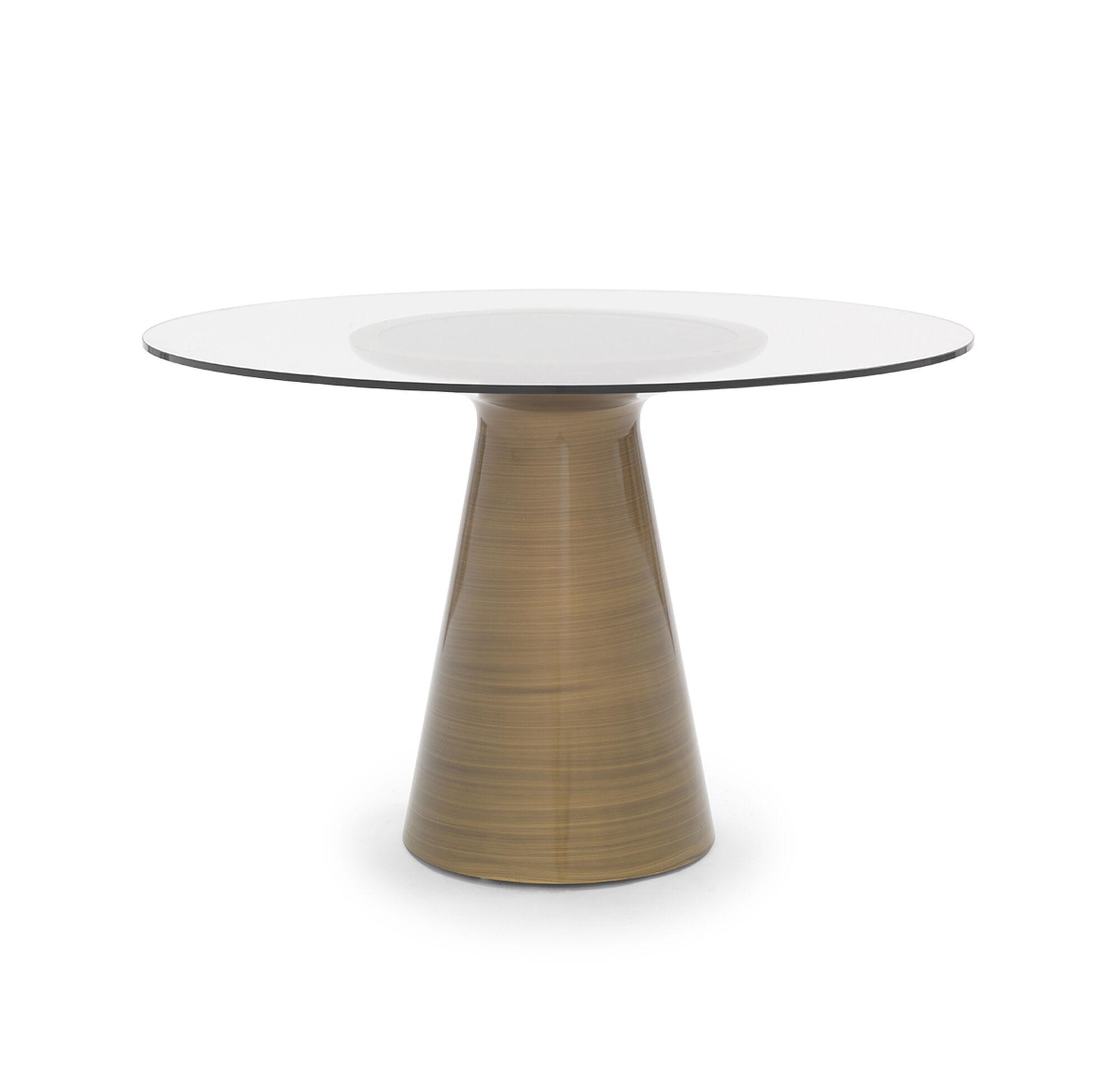 ADDIE DINING TABLE BRONZE