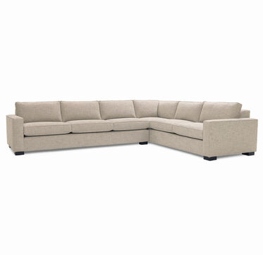 CARSON SECTIONAL SOFA, HOLLINS - FLAX, hi-res