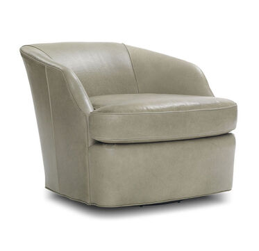 ARIES LEATHER FULL SWIVEL CHAIR, , hi-res