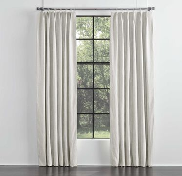 LEGACY SINGLE PANEL EURO PLEAT DRAPE, LEGACY - PARCHMENT, hi-res