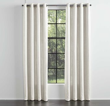 LEGACY SINGLE PANEL GROMMET DRAPE, LEGACY - PARCHMENT, hi-res