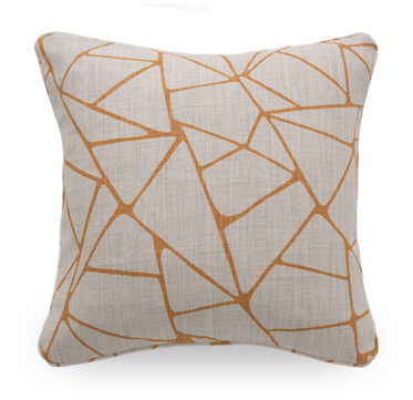 22 IN. SQUARE THROW PILLOW, EVIE - AMBER, hi-res