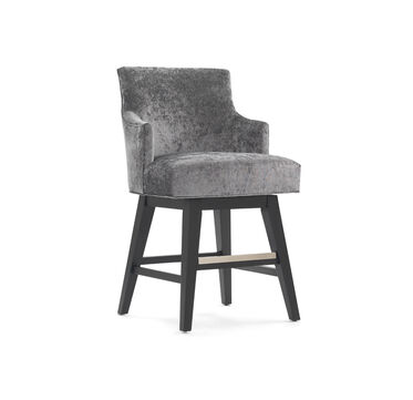 ADA RETURN SWIVEL COUNTER STOOL - WITH ARMS, , hi-res