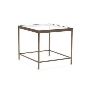 VIENNA SIDE TABLE - ANTIQUE BRASS, , hi-res