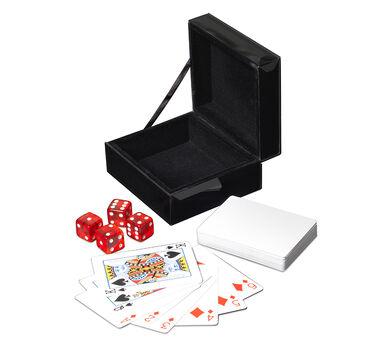 MONACO PLAYING CARD AND DICE BOX, , hi-res