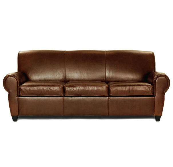 philippe luxe queen leather sleeper sofa