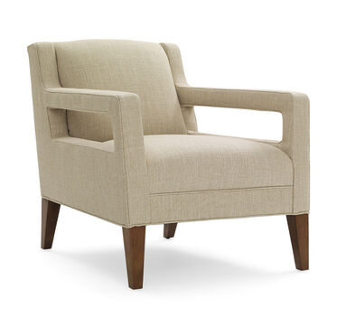 DUKE CHAIR, WINGATE - LINEN, hi-res