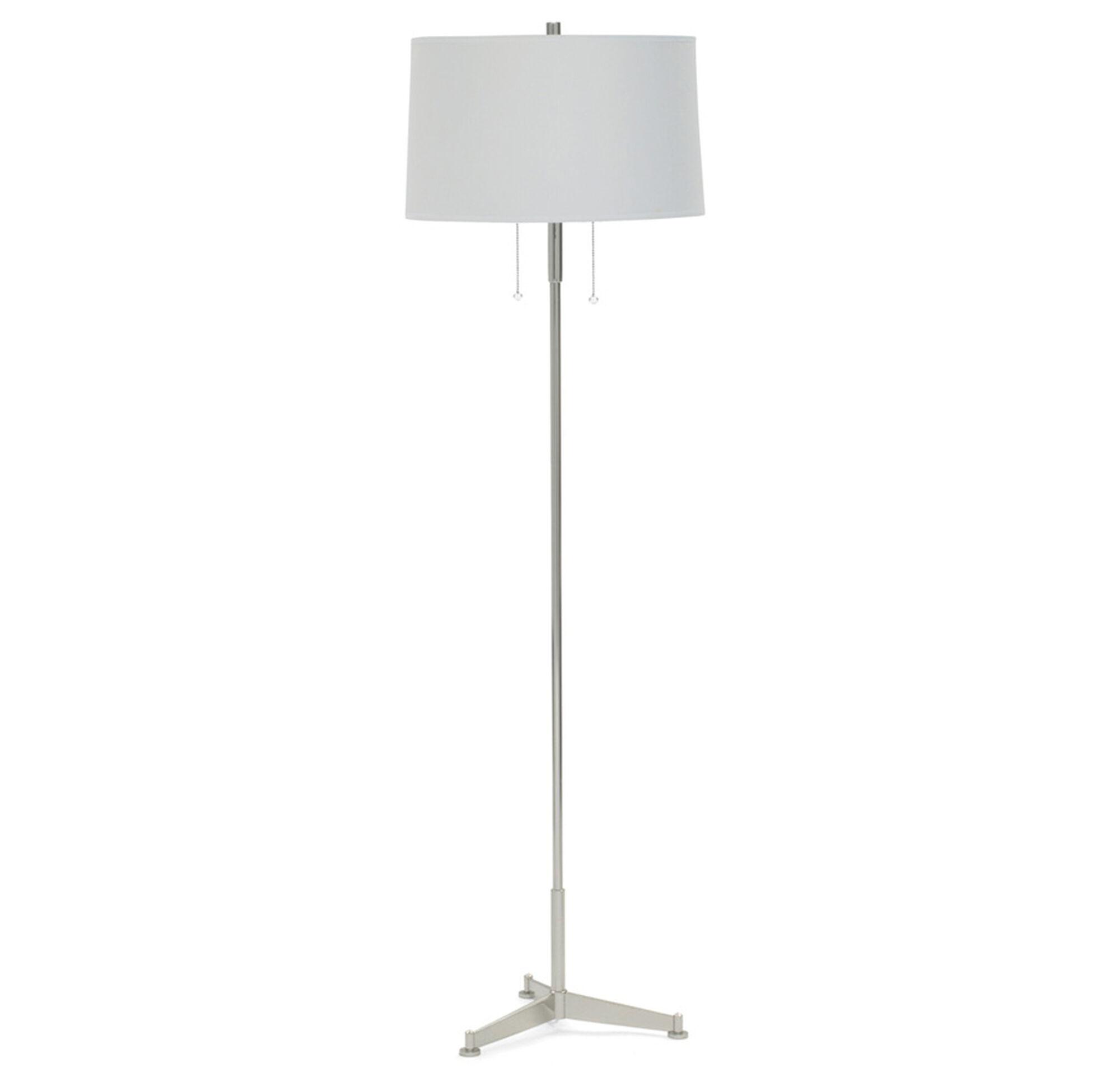 PIPER FLOOR LAMP POLISHED NICKEL