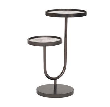 RINGO PULL-UP SIDE TABLE - BLACK, , hi-res