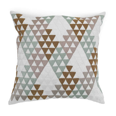 PYRAMID THROW PILLOW, , hi-res