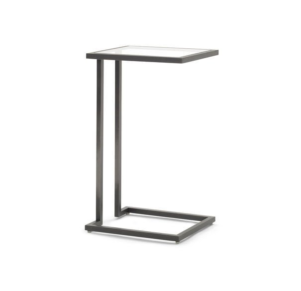 VIENNA PULL-UP SIDE TABLE - PEWTER, , hi-res