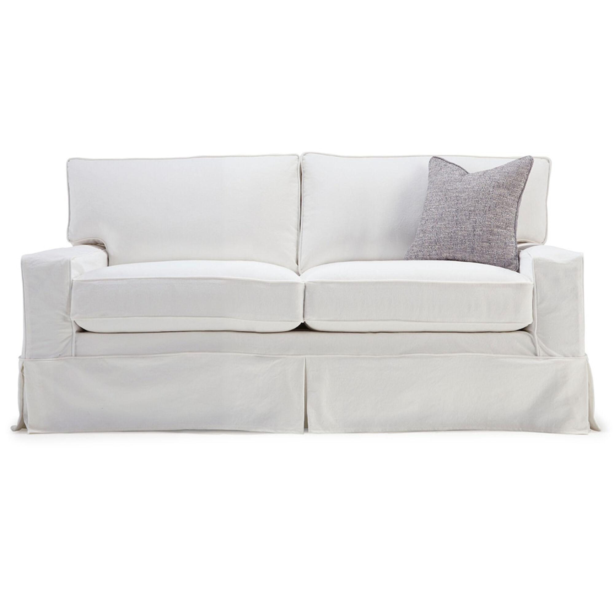 Sofas And Loveseats ~ Light Blue Sofa Slipcover