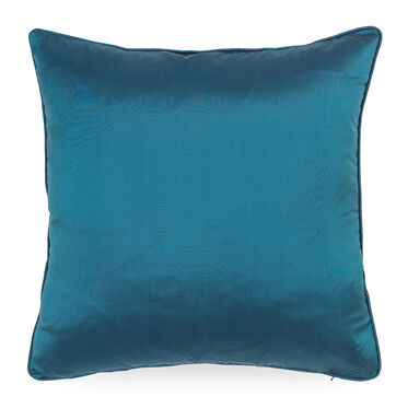 "SILK 22"" X 22"" ACCENT PILLOW, SILK - LAGOON, hi-res"
