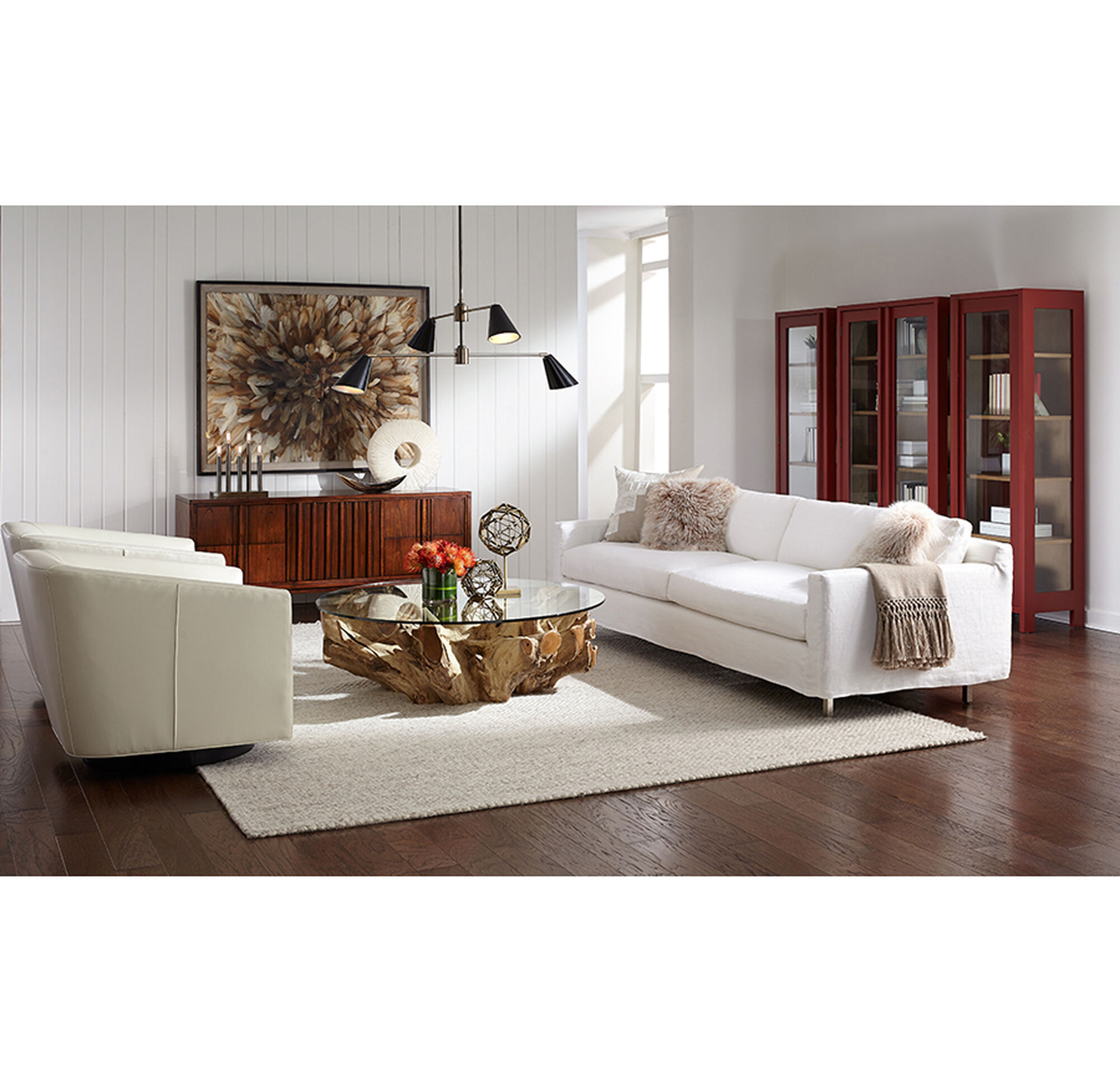 HUNTER SLIPCOVER SOFA