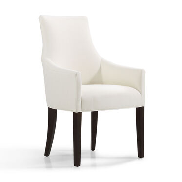 ADA ARM DINING CHAIR, RIDLEY - CREAM, hi-res