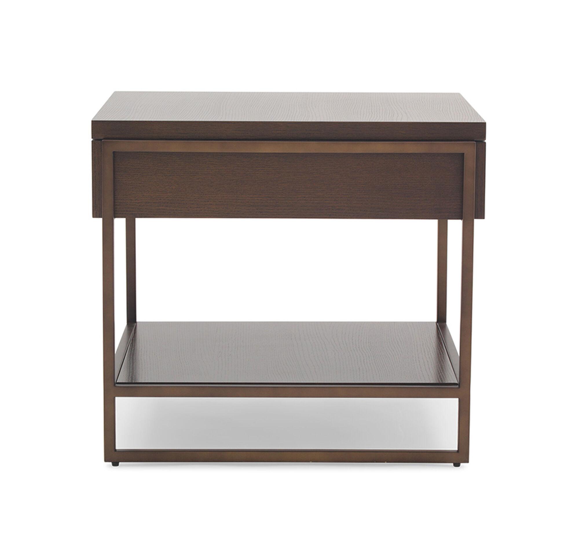 drawers opul drawer solid side loris bedside table decoration oak