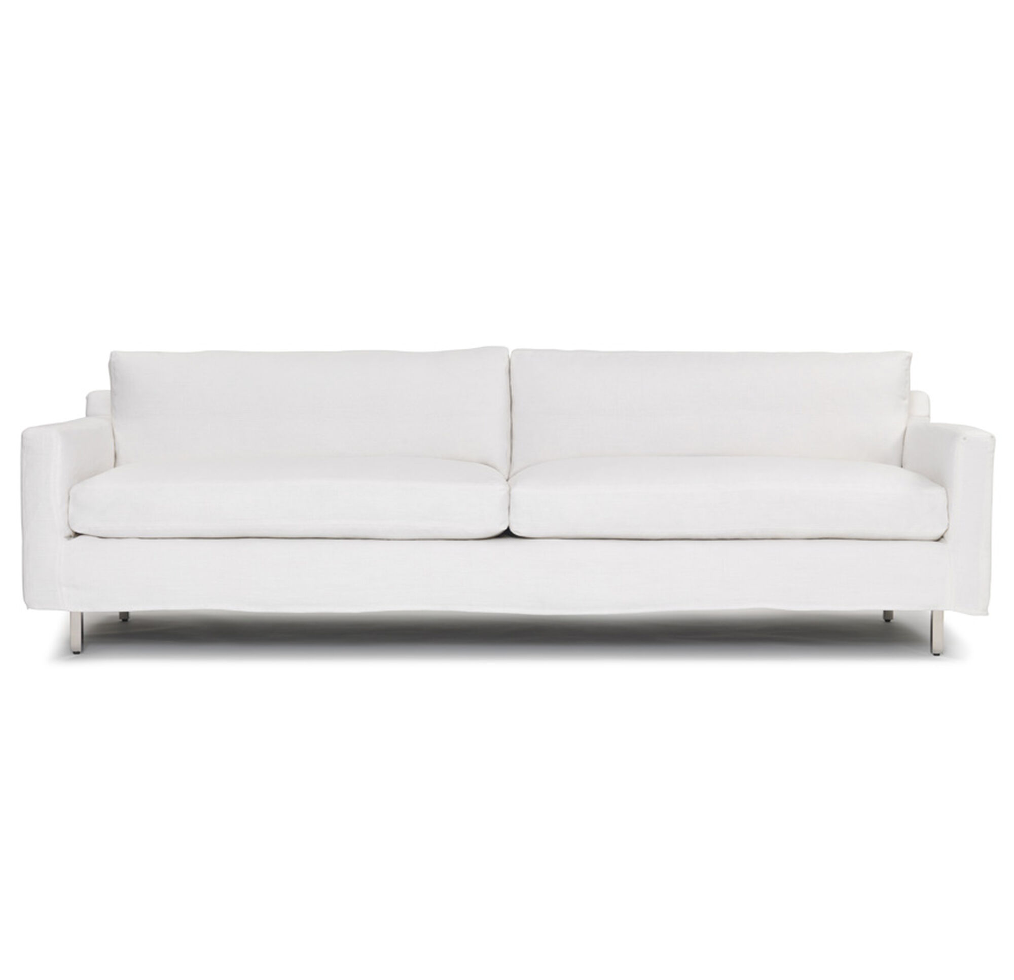 seating slipcover side sofas camille sofa silver louis