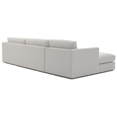 HAYWOOD LEFT CHAISE SECTIONAL, SOL - SILVER, hi-res