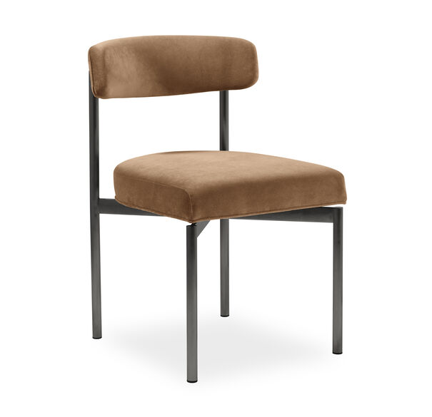 REMY DINING CHAIR - PEWTER, BOULEVARD - AUBURN, hi-res