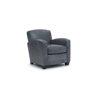 ELLIS LEATHER CHAIR, , hi-res
