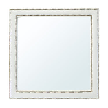 VICTORIA LEATHER XL SQUARE MIRROR, , hi-res