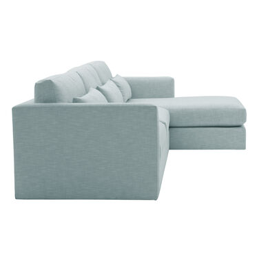 HAYWOOD RIGHT CHAISE SECTIONAL, SOL - SKY BLUE, hi-res