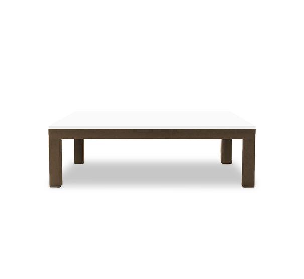 CLASSIC PARSONS COCKTAIL TABLE - VINTAGE BRASS, , hi-res