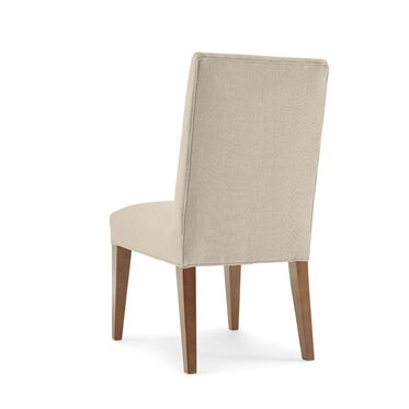 ANTHONY SIDE DINING CHAIR, Performance Textured Linen - OATMEAL, hi-res