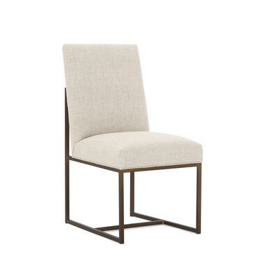 GAGE LOW DINING CHAIR, COSTA - CREAM, hi-res
