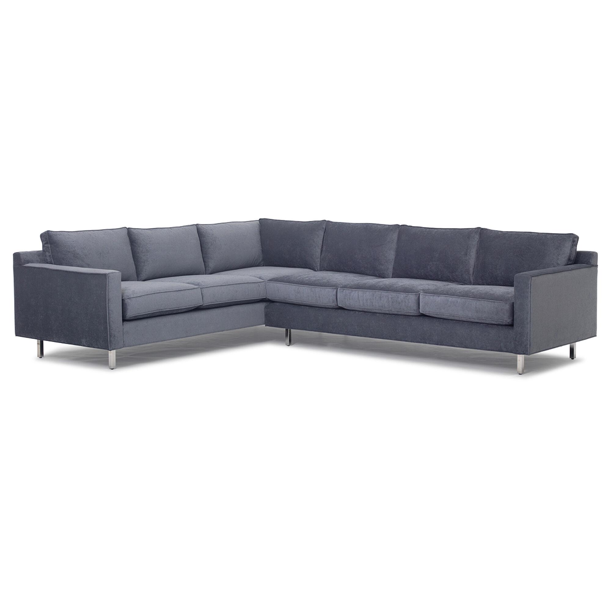 Hunter studio sectional sofa for Sectional sofa hawaii