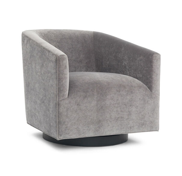 COOPER STUDIO RETURN SWIVEL CHAIR, BOULEVARD - LIGHT GREY, hi-res