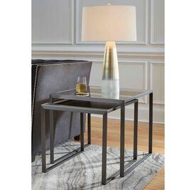 ASTOR NESTING SIDE TABLE - PEWTER, , hi-res