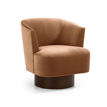 COSTELLO FULL SWIVEL CHAIR, BOULEVARD - AUBURN, hi-res