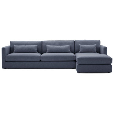 HAYWOOD RIGHT CHAISE SECTIONAL, SOL - INDIGO, hi-res