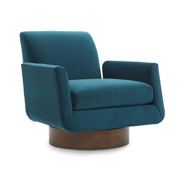 SUPERNOVA RETURN SWIVEL CHAIR, VIVID - PEACOCK, hi-res