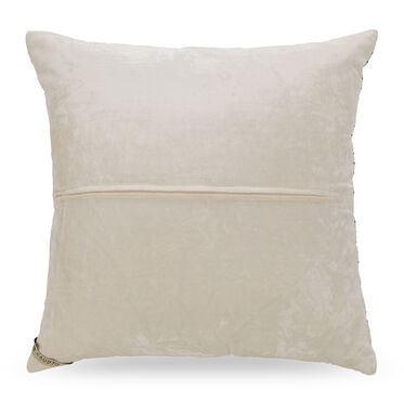 """VELVET EMBROIDERED 22"""" X 22"""" ACCENT PILLOW, , hi-res"""