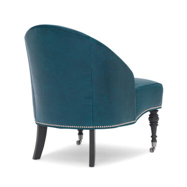 MAE LEATHER CHAIR, MONT BLANC - MOUNTAIN SPRING, hi-res