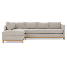 CLIFTON RIGHT SECTIONAL, Performance Textured Linen - OATMEAL, hi-res