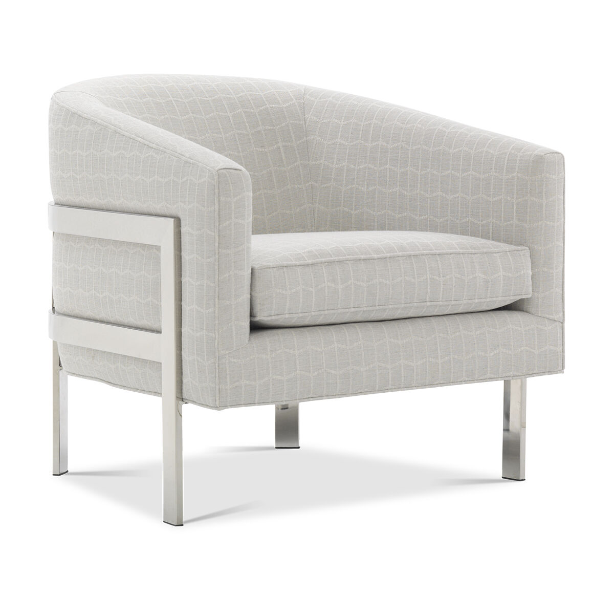 AVERY CHAIR, HADLEY   SILVER, Hi Res