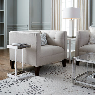RUBIX LILY WHITE TABLE LAMP, , hi-res